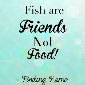 Fish are friends