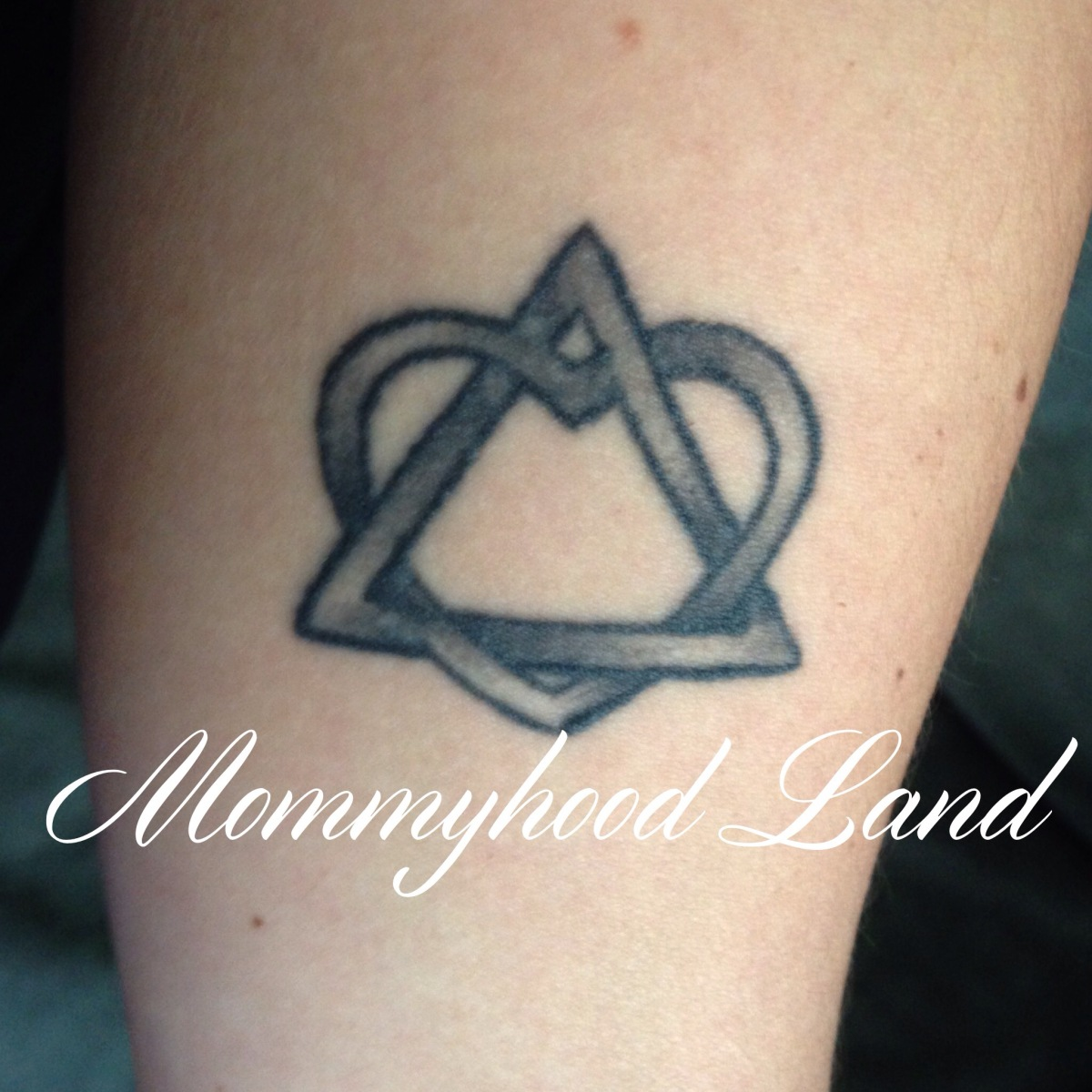Adoption tattoo mommyhood land for Tattoos symbolizing parents